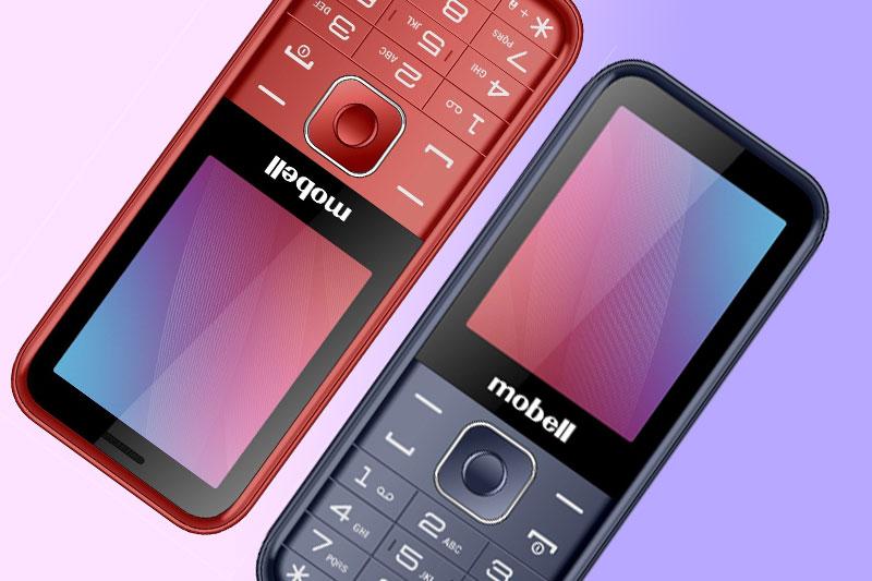 Điện thoại Mobell M319 (2021) | Thiết kế nhựa cứng cáp
