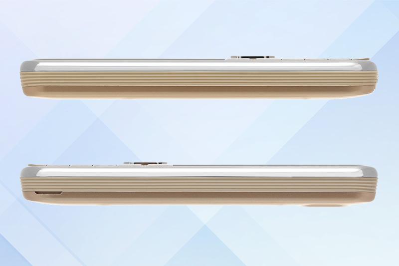 Mobell M389i | Những đường nét tinh tế, thiết kế khá bắt mắt và nổi bật