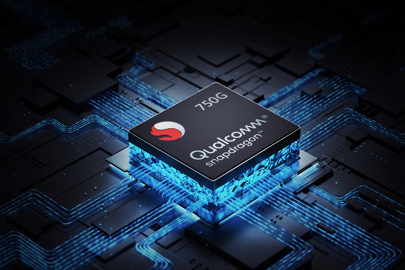 Realme Q3 | Trang bị chipset Snapdragon 750G