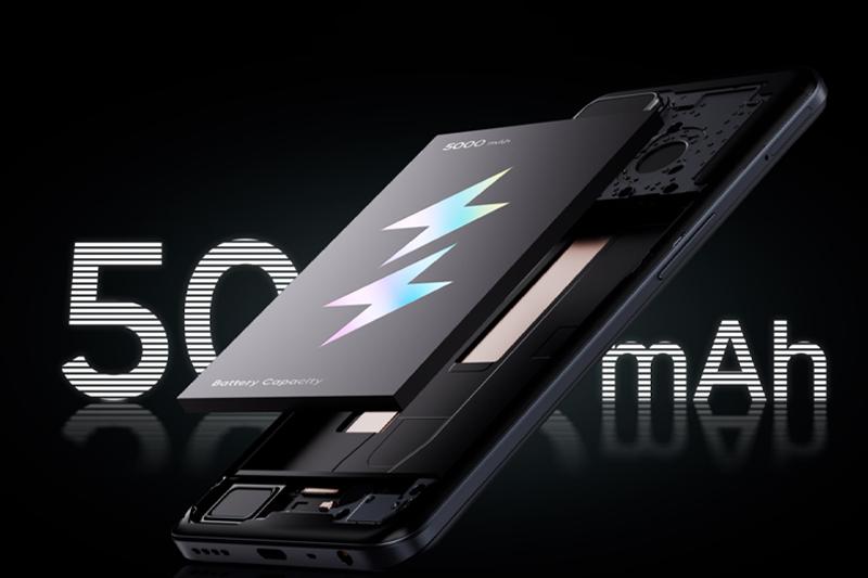 Realme Q3 | Dung lượng pin lớn 5000 mAh
