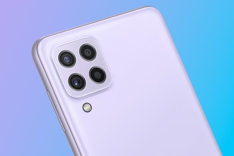 Cụm camera sau chất lượng cao - Samsung Galaxy A22 4G
