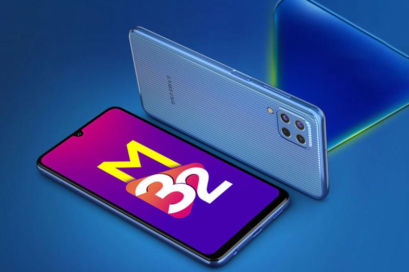 Thiết kế nguyên khối sang trọng - Samsung Galaxy M32