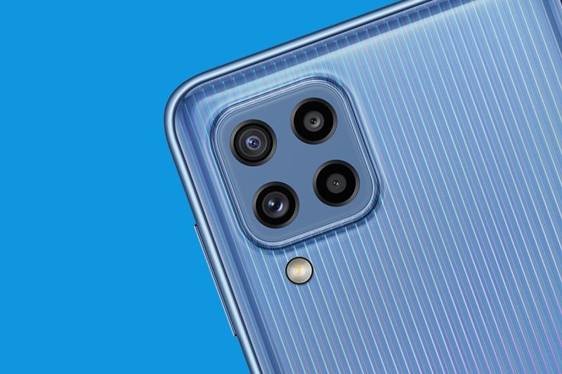 Cụm camera sau sắc nét - Samsung Galaxy M32