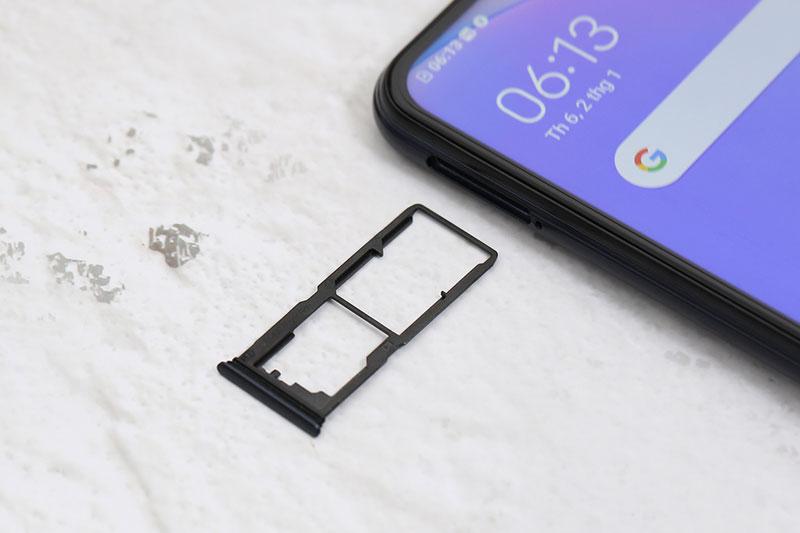 Vivo Y12s 2021 | Hỗ trợ mở rộng dung lượng qua thẻ nhớ MicroSD