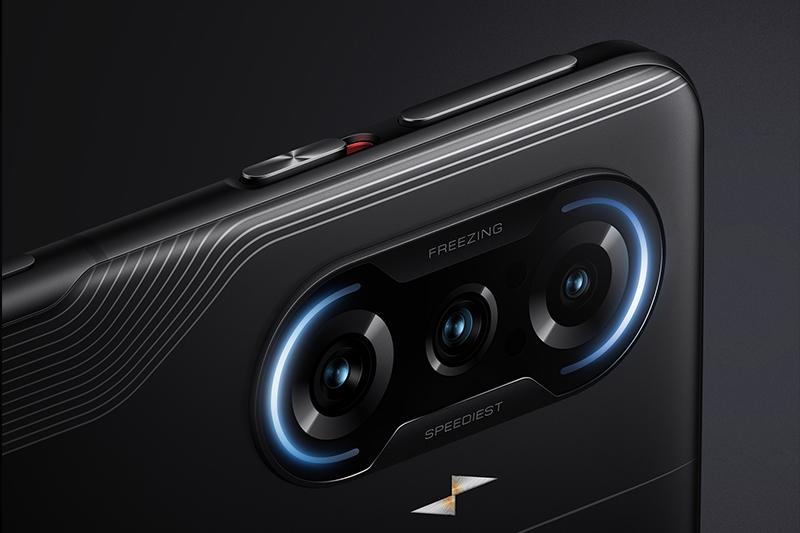 Xiaomi Redmi K40 Game Enhanced Edition | Camera mặt sau đặt dọc với 2 vòng hào quang vô cùng sang trọng và cuốn hút