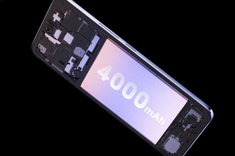 Vivo V21 5G | Dung lượng pin 4000 mAh