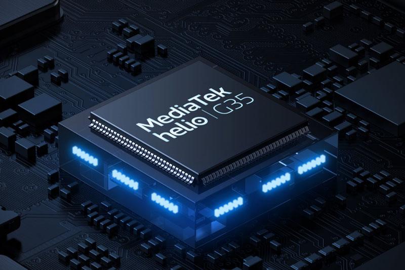 Realme C15 (2021) | Trang bị chip Helip G35 cho hiệu năng ổn định