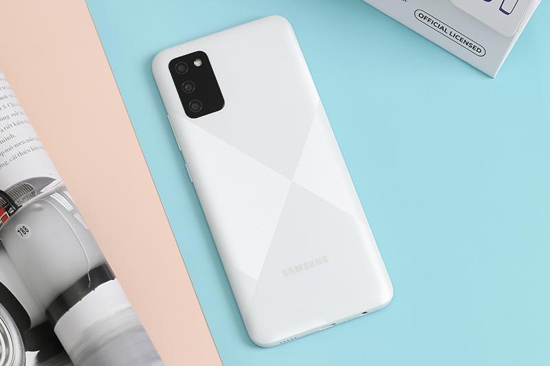 Thiết kế mặt lưng | Samsung Galaxy A02s
