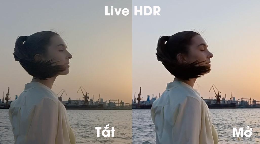 OPPO Reno6 Z 5G - Live HDR