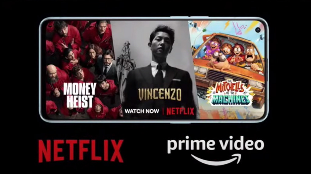 OPPO Reno6 Z 5G - Đạt các chứng nhận của Netflix HD và Amazon Prime video HD