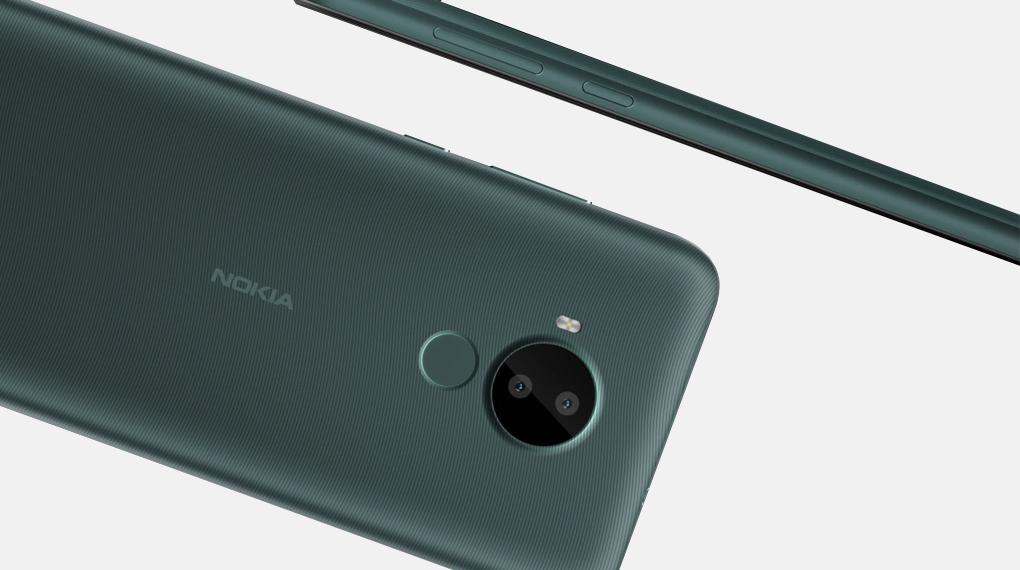 Cảm biến vân tay mặt lưng - Nokia C30