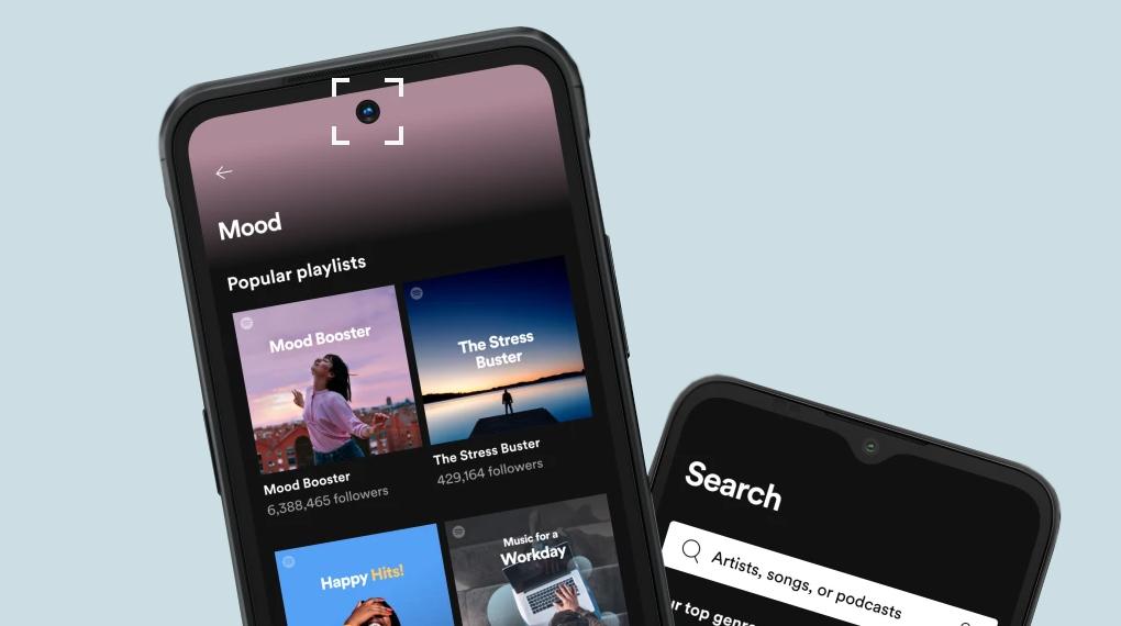 Camera trước tích hợp công nghệ nhận diện khuôn mặt - Nokia C30