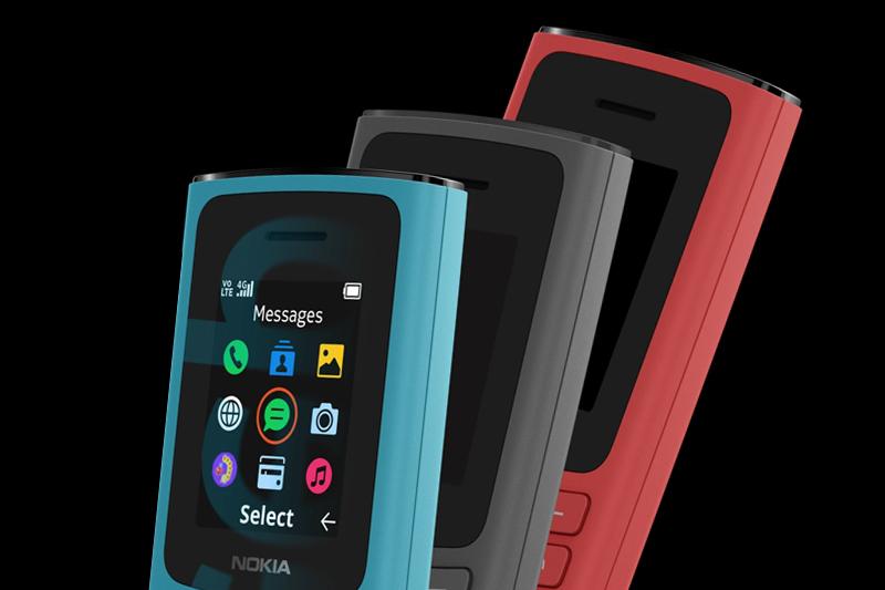 Màu sắc thời thượng - Nokia 105 4G