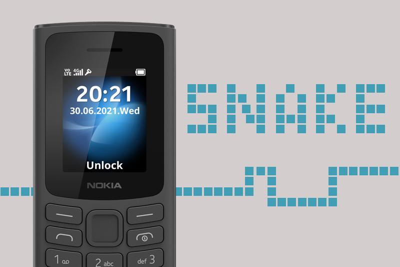 Được tích hợp các trò chơi cơ bản - Nokia 105 4G