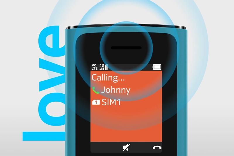 Hỗ trợ 2 sim 2 sóng - Nokia 105 4G