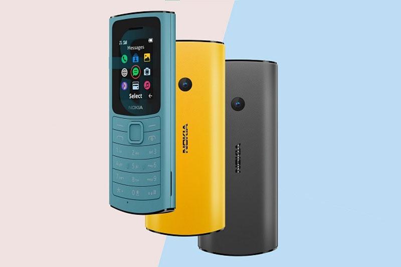 Điện thoại Nokia 110 4G | Thiết kế sang trọng, bền bỉ
