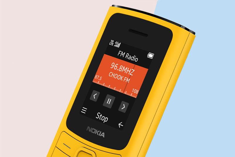 Điện thoại Nokia 110 4G | Nghe FM Radio không cần tai nghe