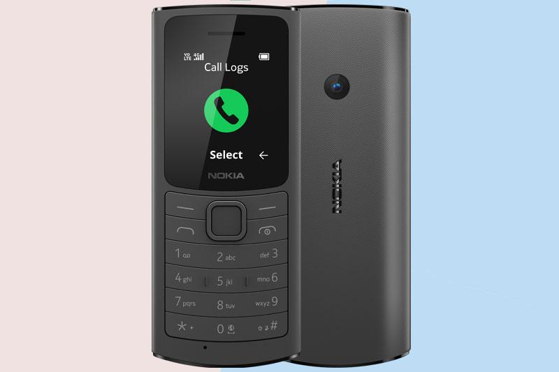 Điện thoại Nokia 110 4G | Pin có thể tháo rời