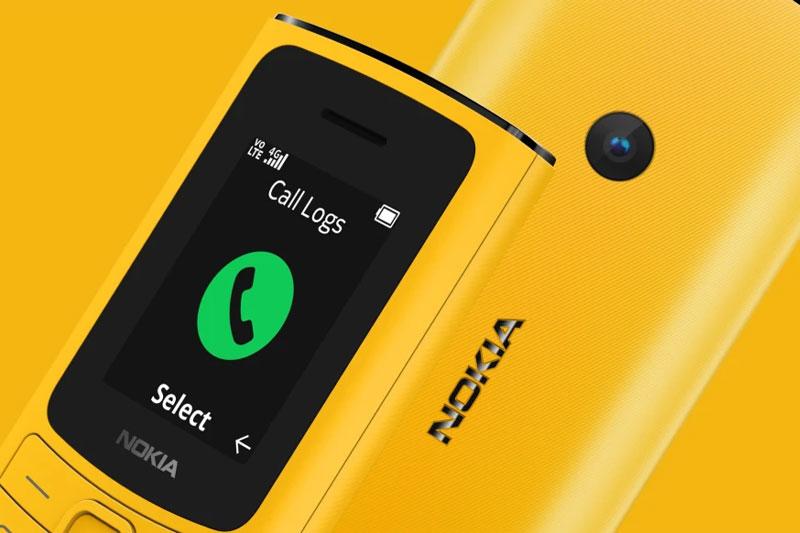 Điện thoại Nokia 110 4G | Màn hình hiển thị tốt