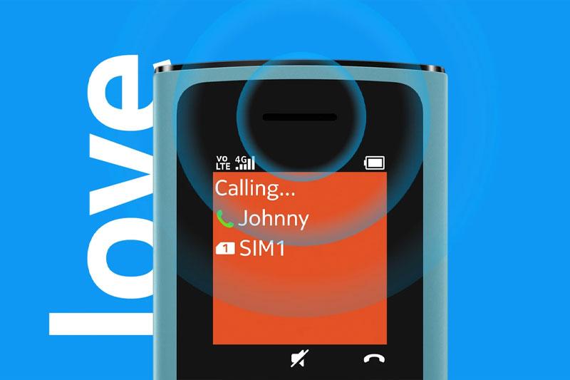 Điện thoại Nokia 110 4G | Hỗ trợ 2 sim 2 sóng 4G