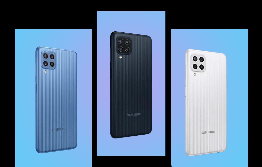 Có 3 phiên bản màu sắc - Samsung Galaxy M22