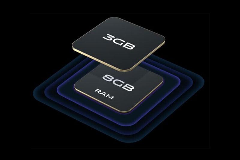 Vivo Y53s   Áp dụng công nghệ RAM mở rộng