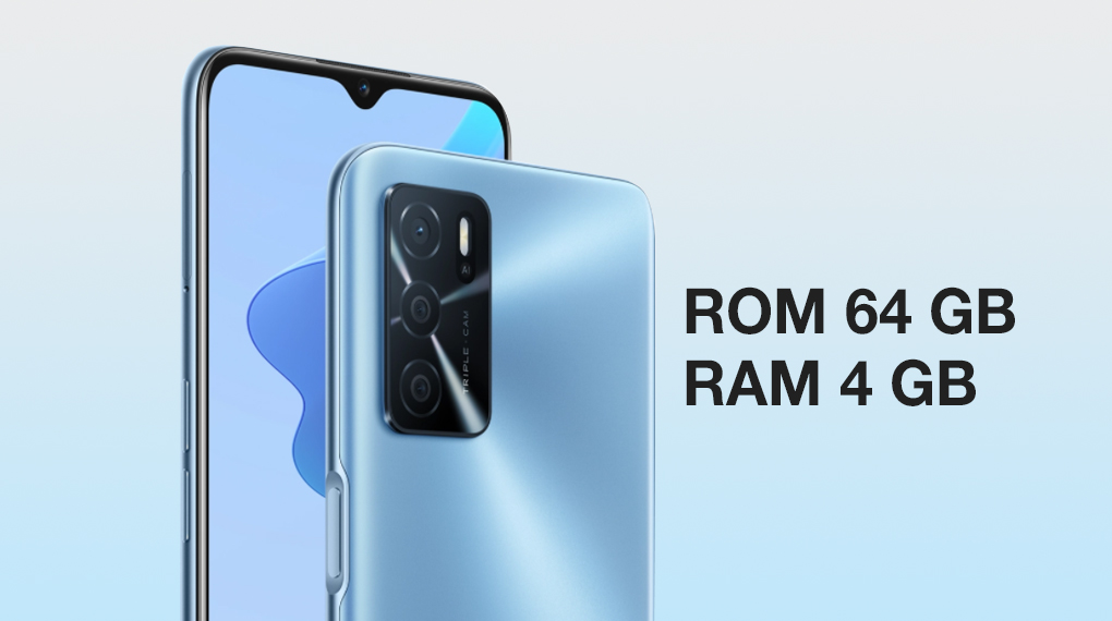 Dung lượng ROM và RAM - OPPO A16