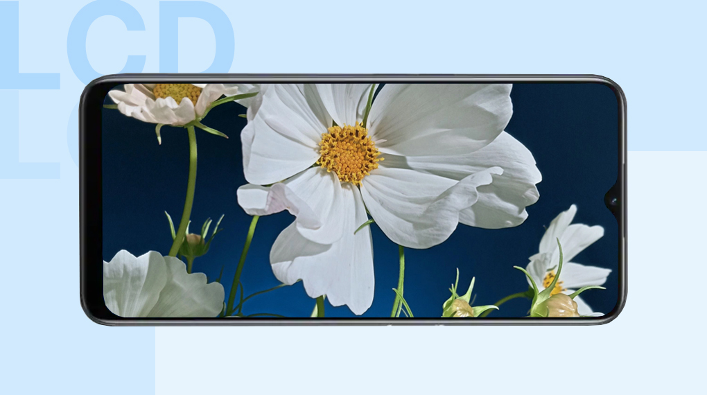Trang bị tấm nền IPS LCD - OPPO A16