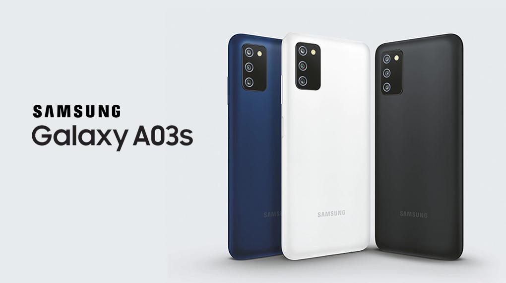 Thiết kế tối giản, hài hòa - Samsung Galaxy A03s