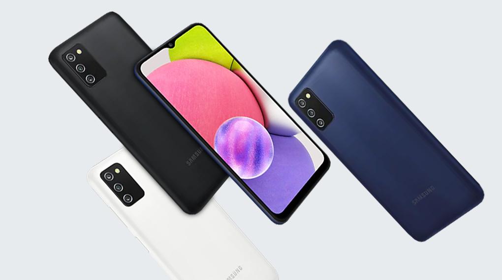 Kích thước gọn nhẹ - Samsung Galaxy A03s