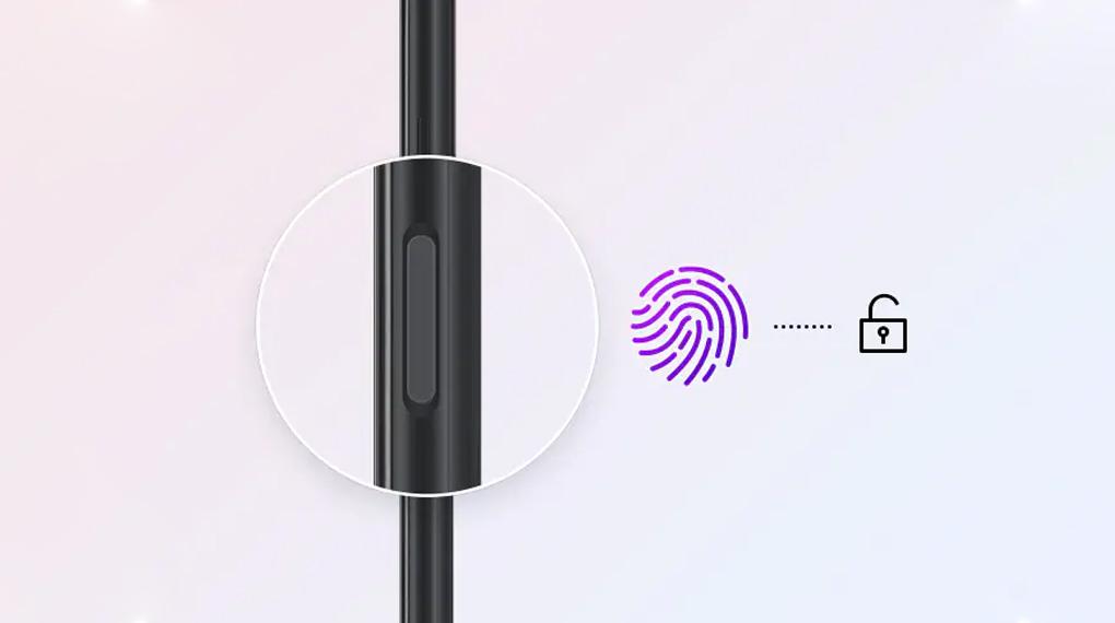 Mở khóa vân tay - Samsung Galaxy A03s