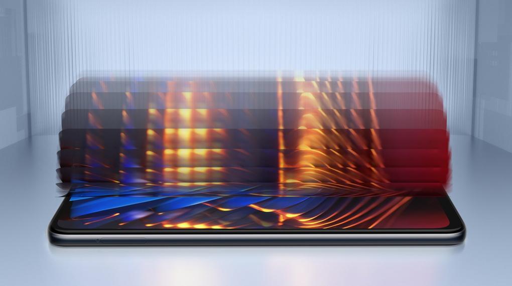 Tần số 120 Hz cho chuyển động mượt mà - Xiaomi POCO X3 GT