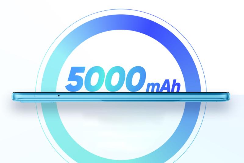 Dung lượng pin lên đến 5000 mAh - Realme C21Y 3GB