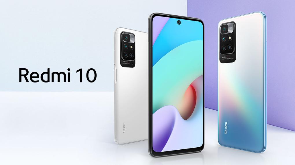 Sở hữu thiết kế nổi bật - Xiaomi Redmi 10