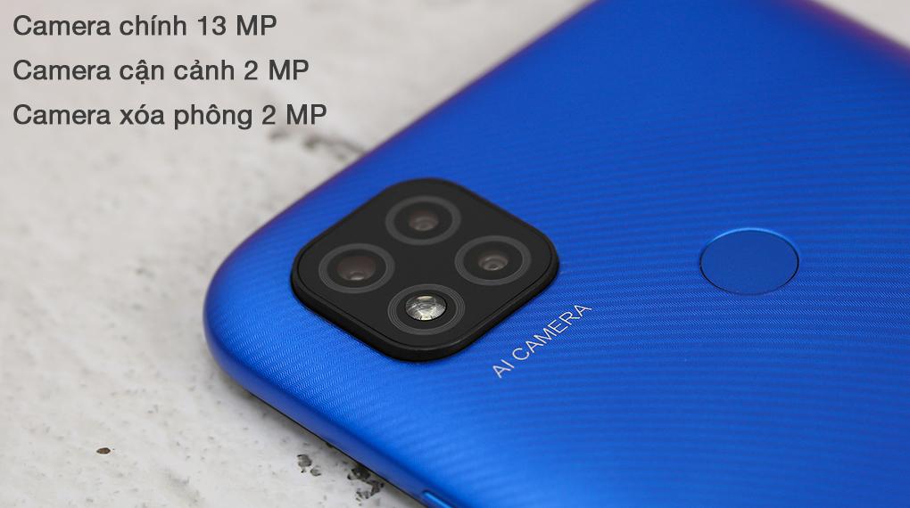 Xiaomi Redmi 9C - Cụm 3 camera sau