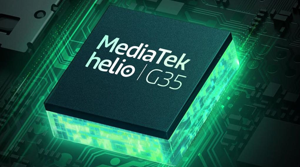Xiaomi Redmi 9C - Chip Helio G35