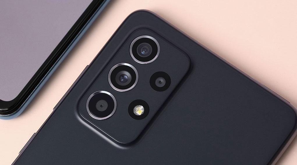 Điện thoại Samsung Galaxy A52s 5G | Cụm 4  camera chất lượng cao