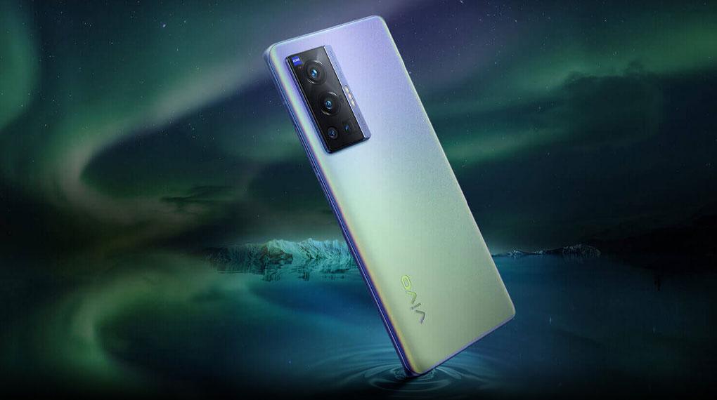 Điện thoại Vivo X70 Pro | Mặt lưng nhám mờ với hiệu ứng màu ấn tượng