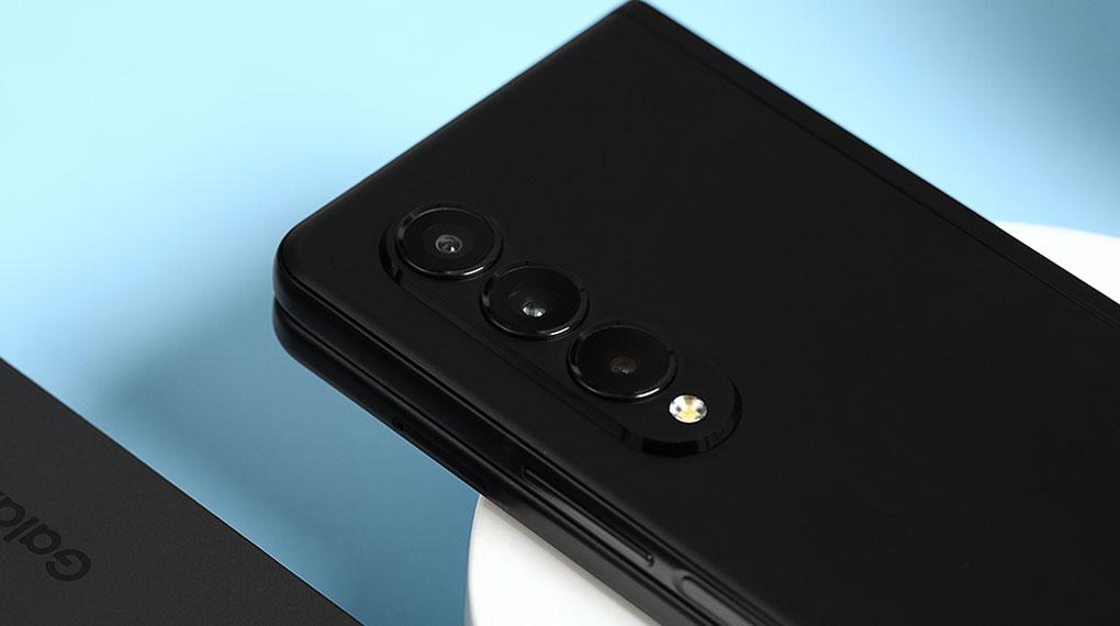Samsung Galaxy Z Fold3 5G   Cụm camera đỉnh cao công nghệ