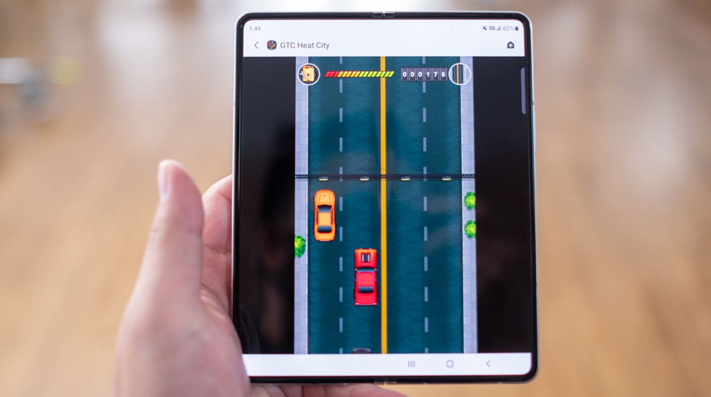 Samsung Galaxy Z Fold3 5G   Khả năng giải trí chơi game mượt mà