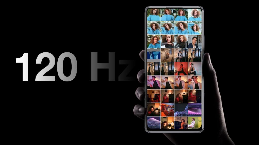 Tần số 120 Hz giúp chuyển động mượt mà - Xiaomi 11T 5G 128GB