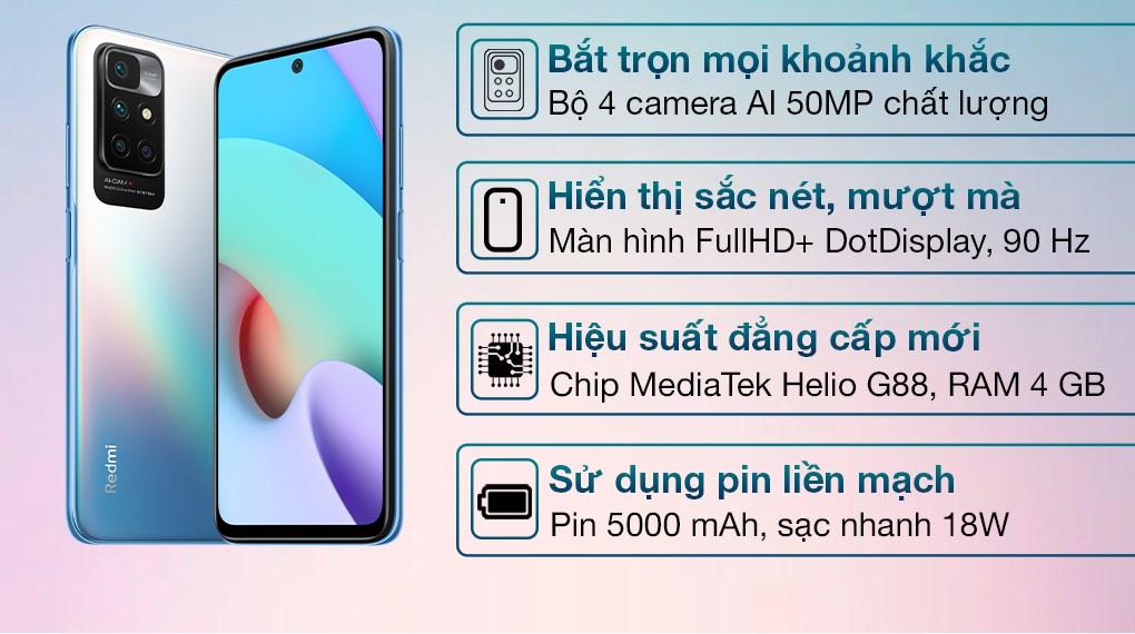 Xiaomi Redmi 10 (4GB/64GB)