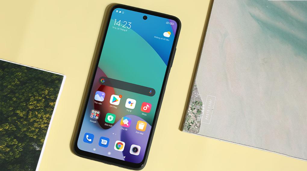 Điện thoại Xiaomi Redmi 10 (4GB/64GB) | Màn hình giải trí sắc nét
