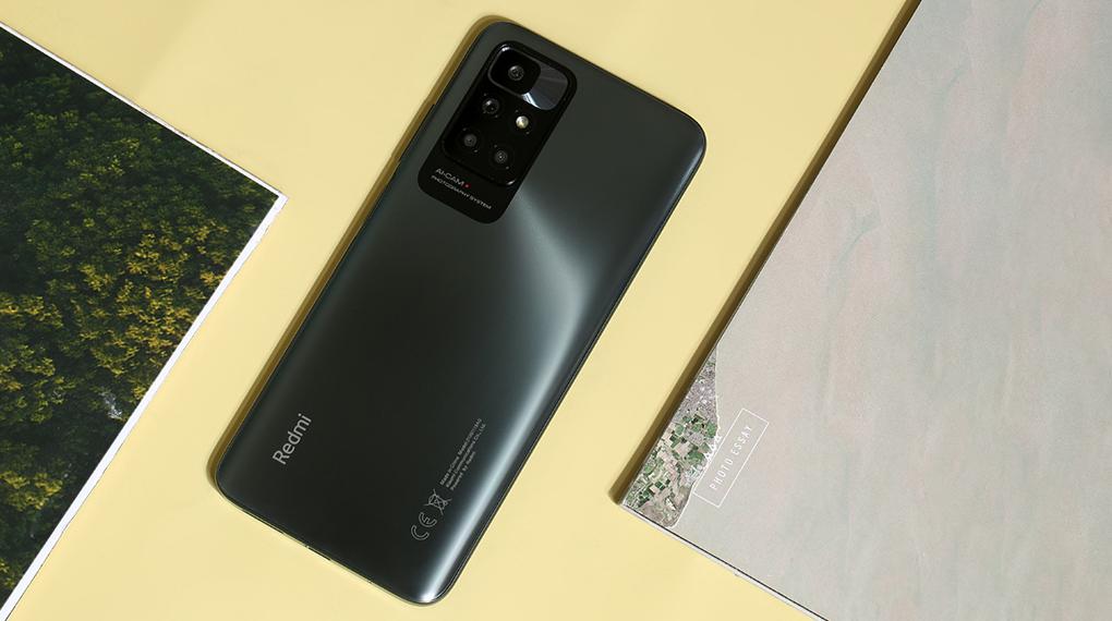 Điện thoại Xiaomi Redmi 10 (4GB/64GB) | Thiết kế mặt lưng