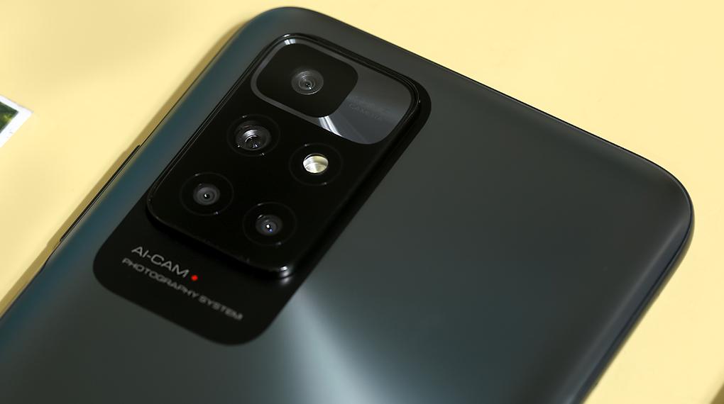 Điện thoại Xiaomi Redmi 10 (4GB/64GB) | Bộ 4 camera ấn tượng