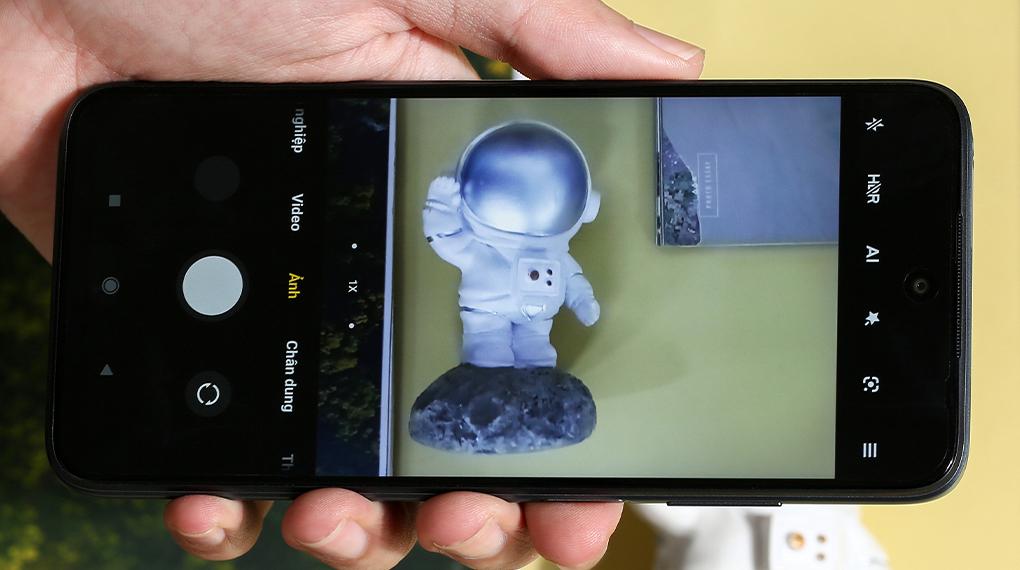 Điện thoại Xiaomi Redmi 10 (4GB/64GB)   Giao diện chụp ảnh