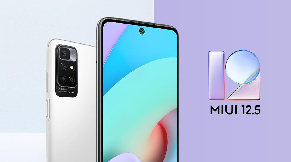 Giao diện MIUI 12.5 - Xiaomi Redmi 10