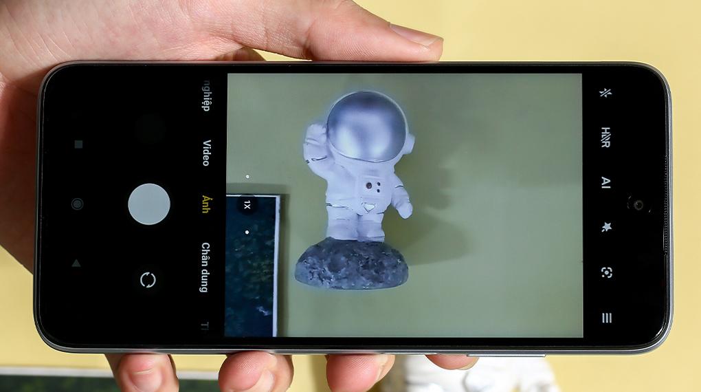 Giao diện chụp ảnh - Xiaomi Redmi 10