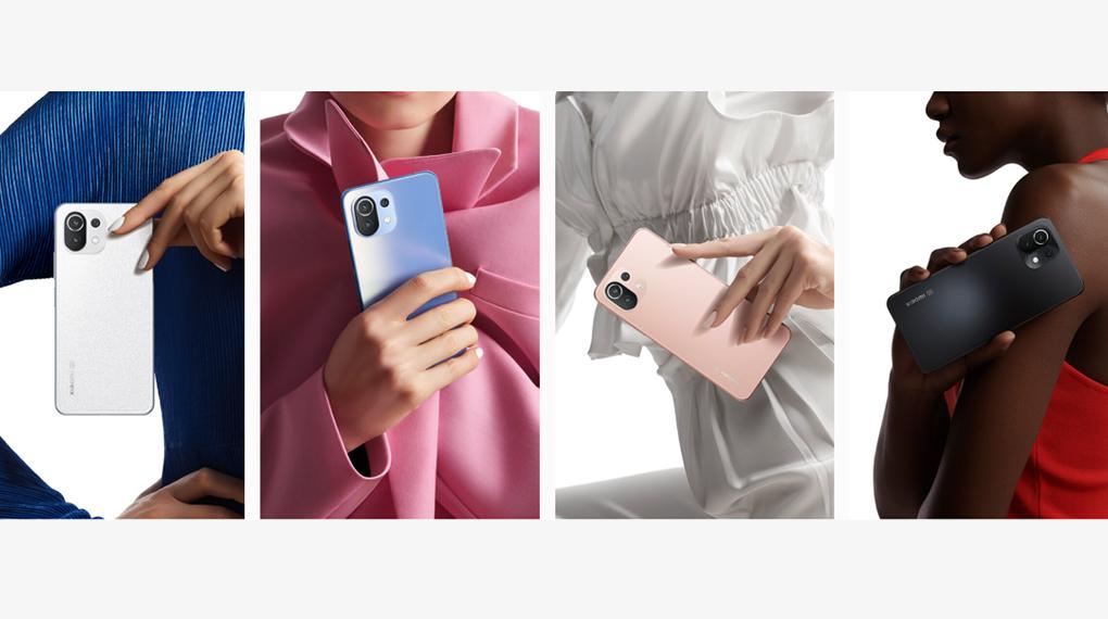 Có nhiều màu sắc để lựa chọn - Xiaomi 11 Lite 5G NE
