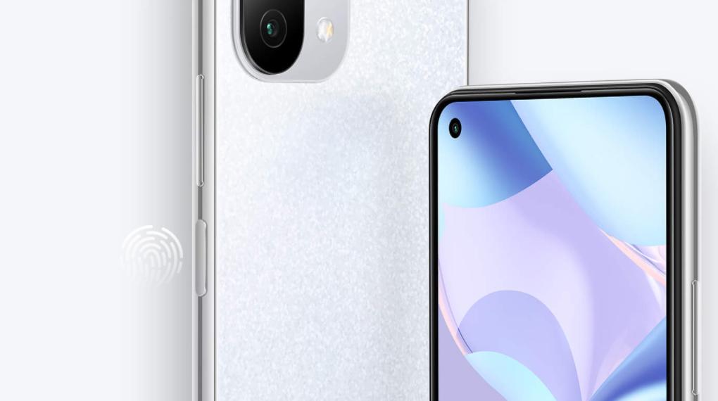 Cảm biến vân tay cạnh viền - Xiaomi 11 Lite 5G NE